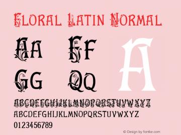 Floral Latin