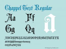 Chappel Text