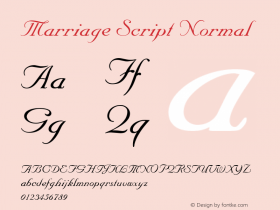 Marriage Script