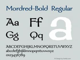 Mordred-Bold