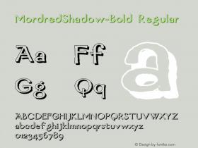 MordredShadow-Bold
