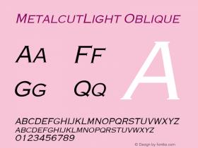 MetalcutLight