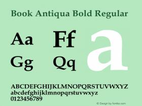 Book Antiqua Bold