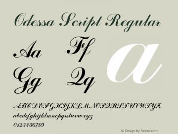 Odessa Script