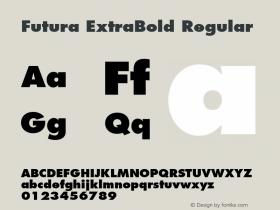 Futura ExtraBold