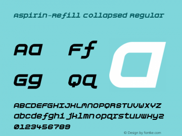 Aspirin-Refill Collapsed