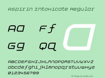 Aspirin Intoxicate