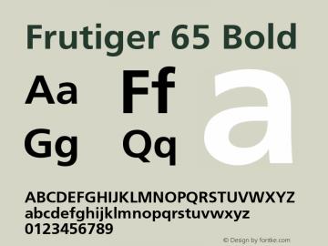 Frutiger 65