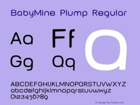 BabyMine Plump