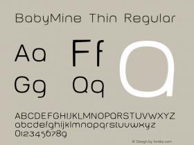 BabyMine Thin