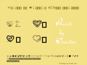 Hearts by Darrian