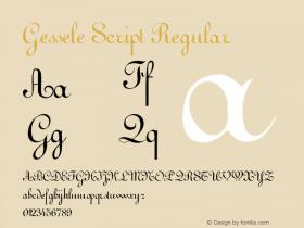 Gessele Script