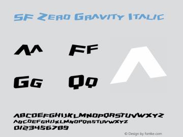 SF Zero Gravity