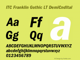 ITC Franklin Gothic LT