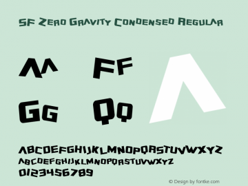 SF Zero Gravity Condensed