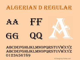 Algerian D