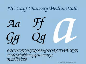 ITC Zapf Chancery