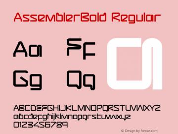 AssemblerBold
