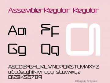 AssemblerRegular