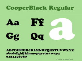 CooperBlack