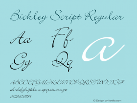Bickley Script