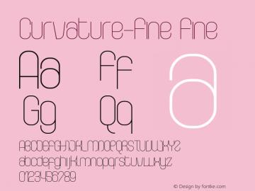 Curvature-Fine