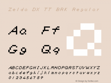 Zelda DX TT BRK
