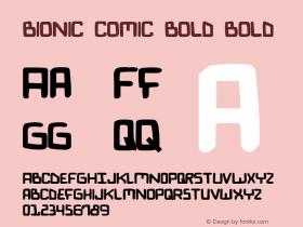Bionic Comic Bold