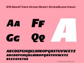 DTLArgoT Caps Ultra Heavy