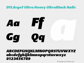 DTLArgoT Ultra Heavy