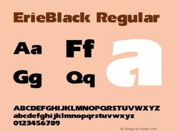 Erie-Black