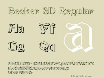 Becker 3D