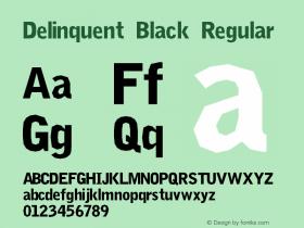 Delinquent Black