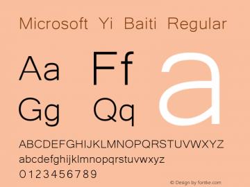 Microsoft Yi Baiti