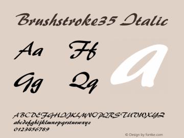Brushstroke35