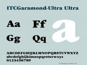 ITCGaramond-Ultra