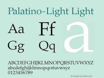 Palatino-Light