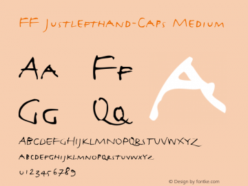 FF Justlefthand-Caps
