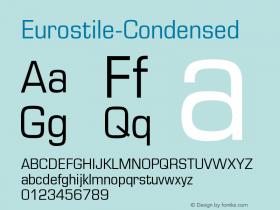 Eurostile-Condensed