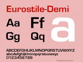Eurostile-Demi
