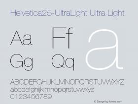 Helvetica25-UltraLight