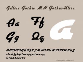 Gillies Gothic MN