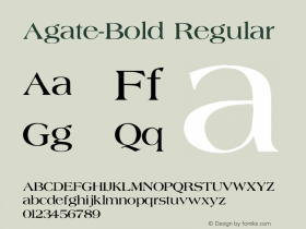Agate-Bold
