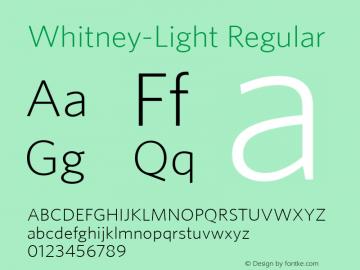 Whitney-Light