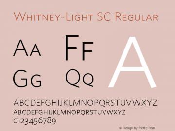 Whitney-Light SC