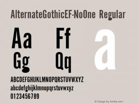 AlternateGothicEF-NoOne