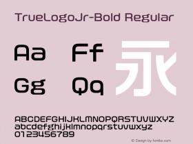 TrueLogoJr-Bold