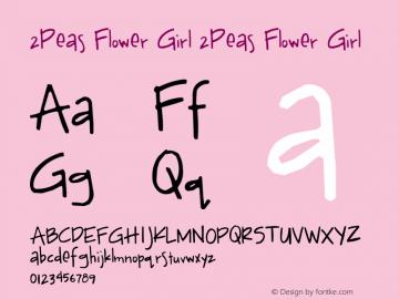 2Peas Flower Girl