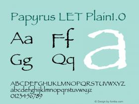 Papyrus LET