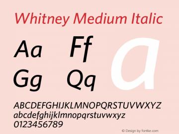 Whitney Medium